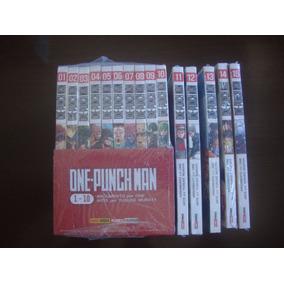 Mangá One Punch-man Volumes 1 Ao 16 Lacrados