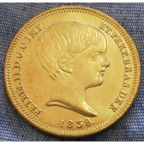 Moeda 10000 Réis 1838 Pedro Menino Réplica Envio Por Carta R