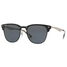 479bc75b1c894 Ray Ban Blaze Clubmaster - Óculos De Sol no Mercado Livre Brasil
