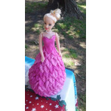 Princesas Muñecas Con Vestidos De Goma Eva