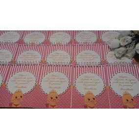 Lembrancinha De Maternidade Bloquinho Com Lápis - 30 Kits