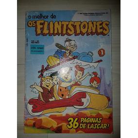Gibi O Melhor De Os Flintstones Nº 1 - 1993 Editora Abril
