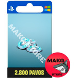 Fortnite 2800 Pavos (pc/xbox/ps4) Stock Siempre