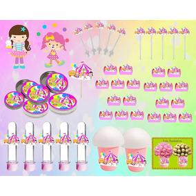 Kit Decorativo Infantil Circo Menina 265 Peças