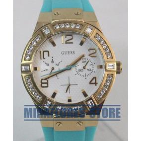Reloj Guess De Mujer En Dorado Y Piedras - Relojes en Mercado Libre Perú a3a7df78604d