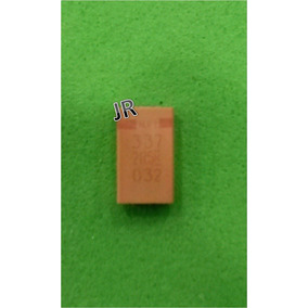 Capacitor Condensador Smd 330uf 2.5v Tantalio Solido A4