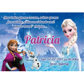 50 Convites Infantil Personalizado Com Envelope