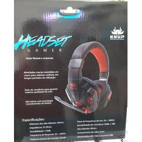 Fone De Ouvido Headset Para Games, Músicas, Videos, Etc