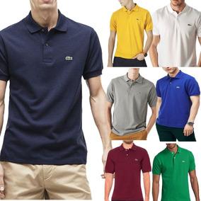 09d15e5f2a Kit C  6 Camisas Camisetas Atacado Gola Polo Masculina Marca. R  120