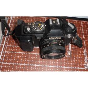 Cámara Fotográfica Konica, Hexanon Ar 40 Mm, Made In Japan