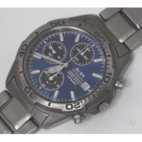 1f9c989f670 Seiko Alba Hyper Tech Para - Relógios De Pulso no Mercado Livre Brasil