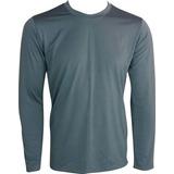 Camisa Térmica Masc. Prot. Uv 50+ Kaapuã Segunda Pele Cinza 5c27affbf4f46