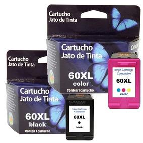 Kit Cartucho 60 Preto + 60 Color F4280 F4480 C4680 D110
