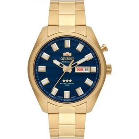 8874e0b48a6 Relogio Orient Automatico Dourado 21 - Joias e Relógios no Mercado ...