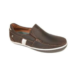 728a5fa33e56d Zapatos Mocasines Cafes Gino Cherruti - Ropa y Accesorios en Mercado ...