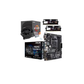 Kit Amd Ryzen R5 2600 Asus Prime B450m A Geil 2x 4gb Ptz I