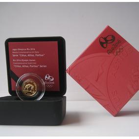 Moeda Comemorativa Ouro Luta Olímpica 12 X Frt Grátis (223)