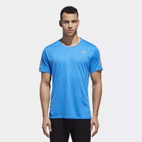 Camiseta adidas Response Tee Masculina Cy5749 - P - Azul 7eebc4308d9