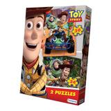 2 Puzzles Rompecabezas Disney Toy Story Tapimovil Mundomania