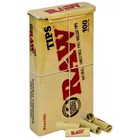 Piteira Raw Prerolled - Lata C/100piteiras - Pronta Entrega
