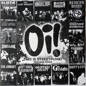 V/a - Oi! This Is Streetpunk! Volume Four - Lp Importado