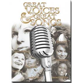 Dvd Great Voices & Great Songs Women - Diversas Internaciona
