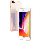 Iphone 8 Plus Gold T. 5,5 4g 64gb + Brinde + 12x Sem Juros