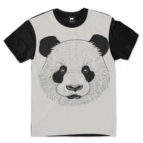 Camisetas Com Estampa Urso Panda Thief Bear - Camisetas no Mercado ... baec0c6c45192