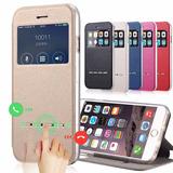Flip Cover Iphone 7 Plus Dorado Gold