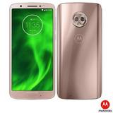 Moto G6 Ouro Motorola Tela 5,7 4g 64gb 12mp 5mp Xt1925-3