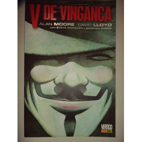 Vertigo V De Vinganca Alan Moore Panini 2012 Excelente