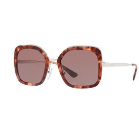 ... ac8c5609202 Oculo Sol Feminino Marrom De Prada - Óculos no Mercado  Livre Brasil ... 5da9e4a162