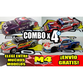 Combo X 4 Replicas Maquetas Autos Tc Coleccion