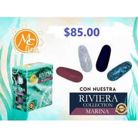 Polvo Acrílico , Uñas , Mc Nails Colección Riviera Marina