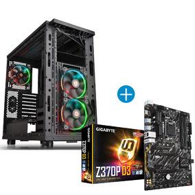 Combo Gamer Board Cigabyte Z370p D3 + Chasis Thermaltake Vie