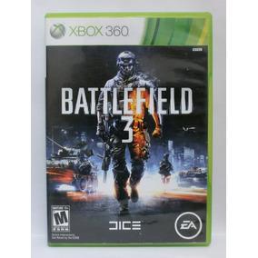 Battlefield 3 Jogo Xbox 360 Usado Midia Física
