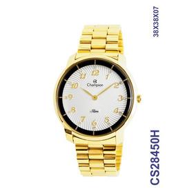 d75c86e8886 Relógio Feminino Dourado Champion Slim - Relógios De Pulso no ...