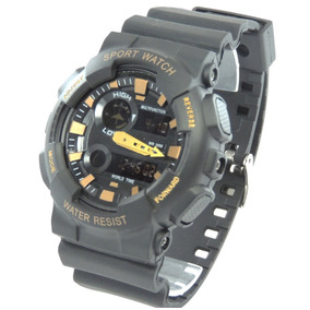 Relógio Masculino Sanda Original Digital Reverse Gshock