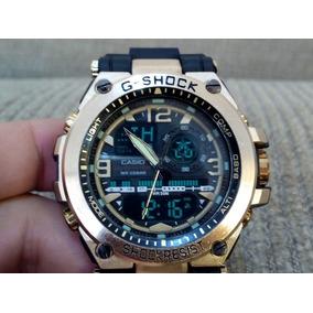 3e3b4389aa8 Relogio Esportivo Camuflado Gshock · Relógio G Shock Steel Aço Resist Água  Masculino