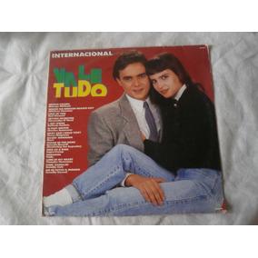Lp Trilha Sonora Internacional Vale Tudo, Disco Vinil, 1988