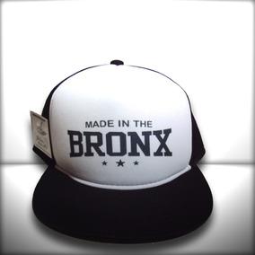d4ca10544306d Boné Made In The Bronx Trucker Snapback Aba Reta Preto