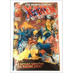 Os Fabulosos X-men Nº 01: Autografada Por Roger Cruz! Rara!