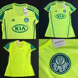 Camisa Palmeiras 2012 Away Tam M (70x45) Feminina