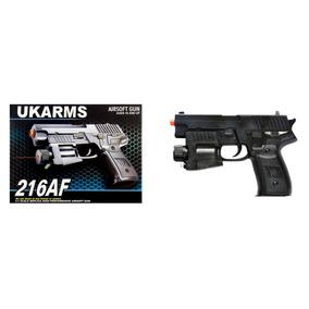 Pistola De Airsoft Spring Arms 216af Fps-150.