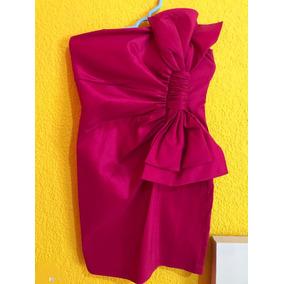 Vestido Rosa Magenta Para Cocktail