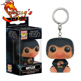 Chaveiro Funko Pocket Pop! Niffler Animais Fantásticos Harry
