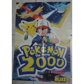 Álbum De Figurinhas Chiclé Bola Buzzy Pokémon 2000 The Movie