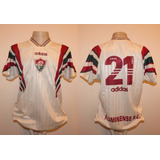 7322c0b6d360f Camisa Do Fluminense 1996 Branca Adidas Futebol Camisas - Camisas de ...