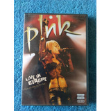 Dvd Pink Live In Europe