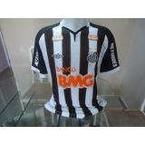 d4cbc2fceb Camisa Santos Bmg - Futebol no Mercado Livre Brasil